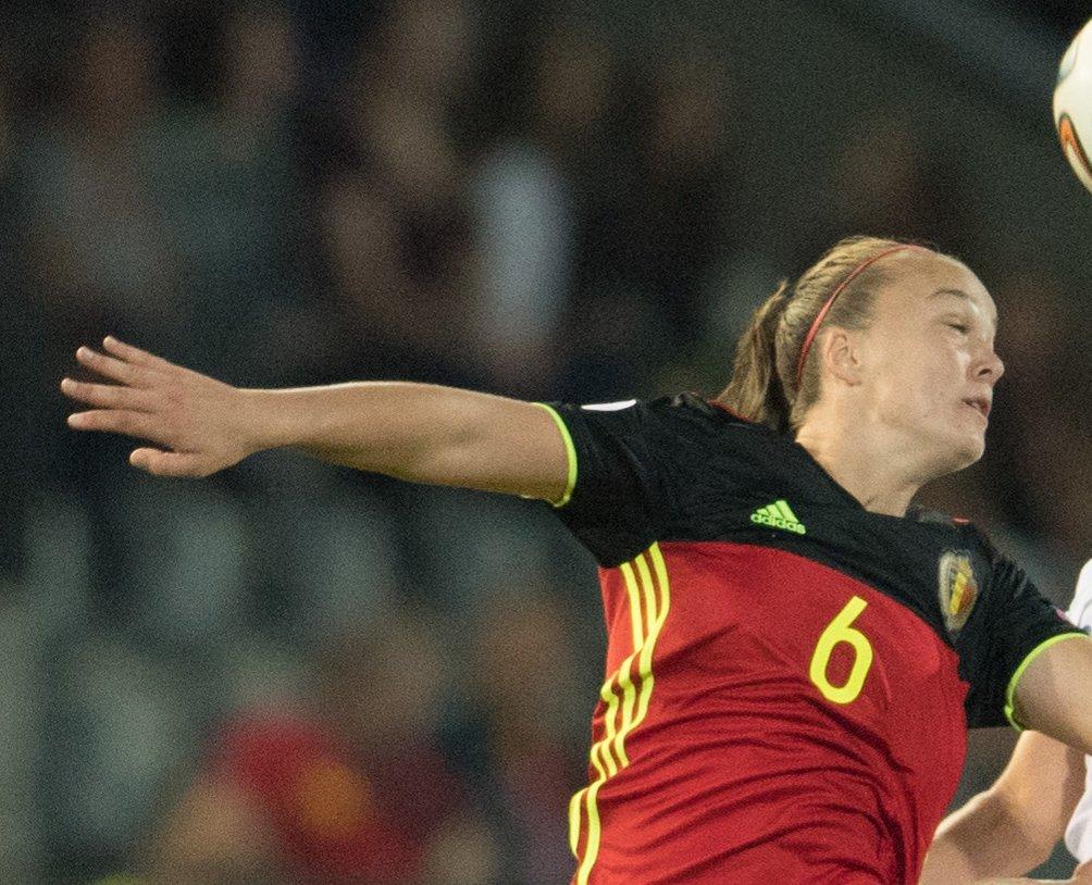 Tine de Caigny scored five times