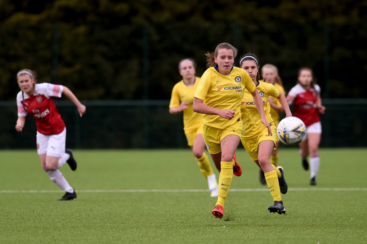 Chelsea lost to Arsenal in the Girls' Cup Final