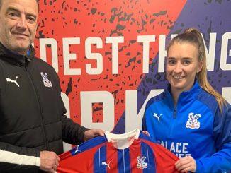 New Crystal Palace signing, Amber Stobbs