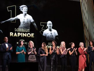 Megan Rapinoe woins Ballon d'Or
