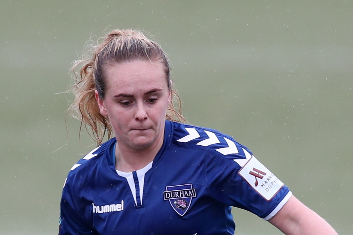 Durham's Beth Hepple hiy a hat-trick