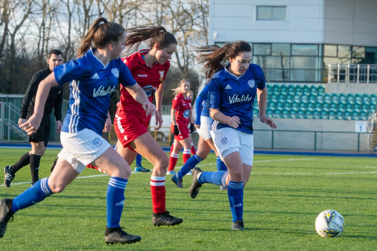 Cardiff City FC reach WPWL Cup semi-finals