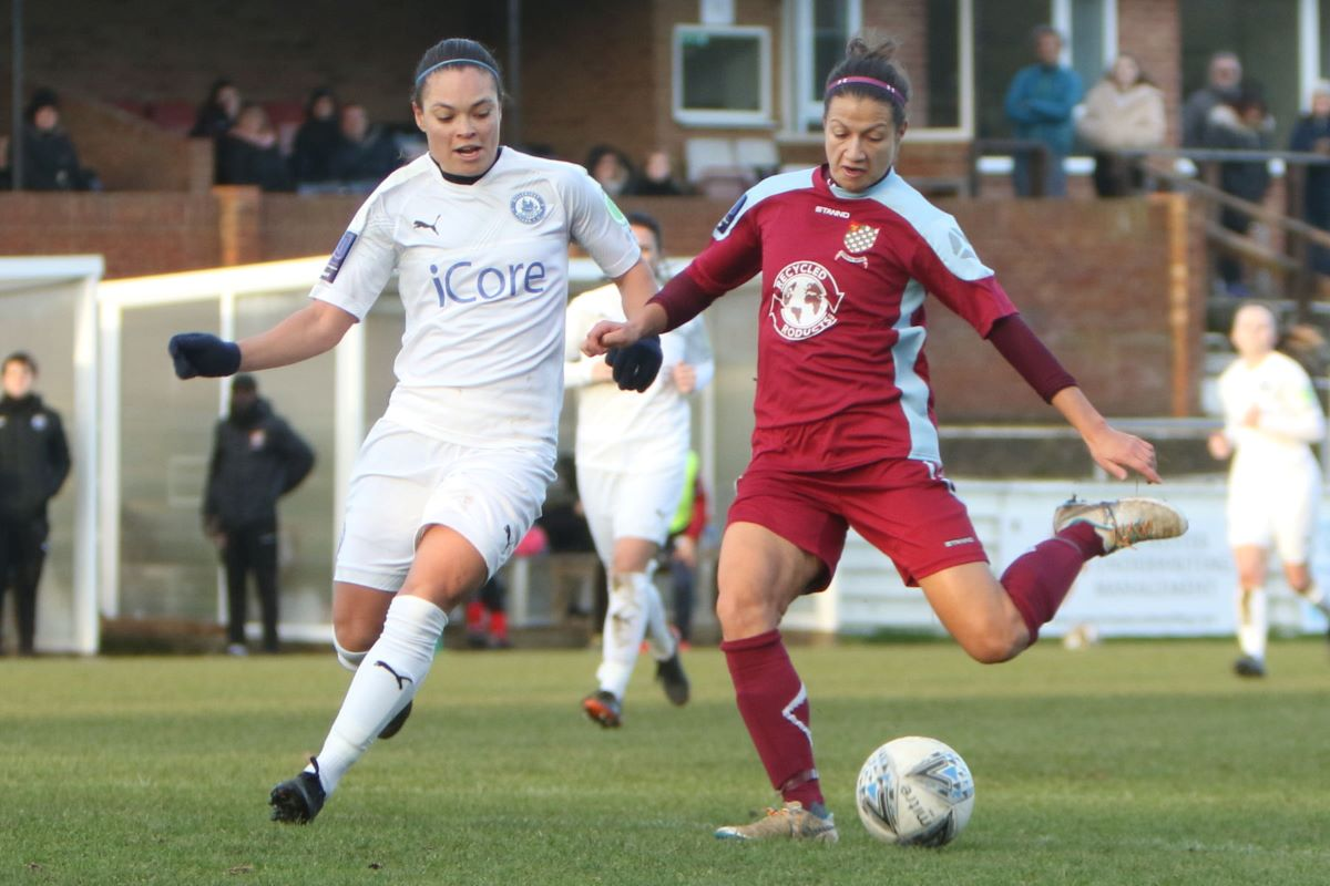 Chesham United reached the FAWNL Cup last eight.