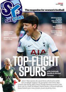 She Kicks Women's Football Magazine Issue #58 (Jan 2020) cover