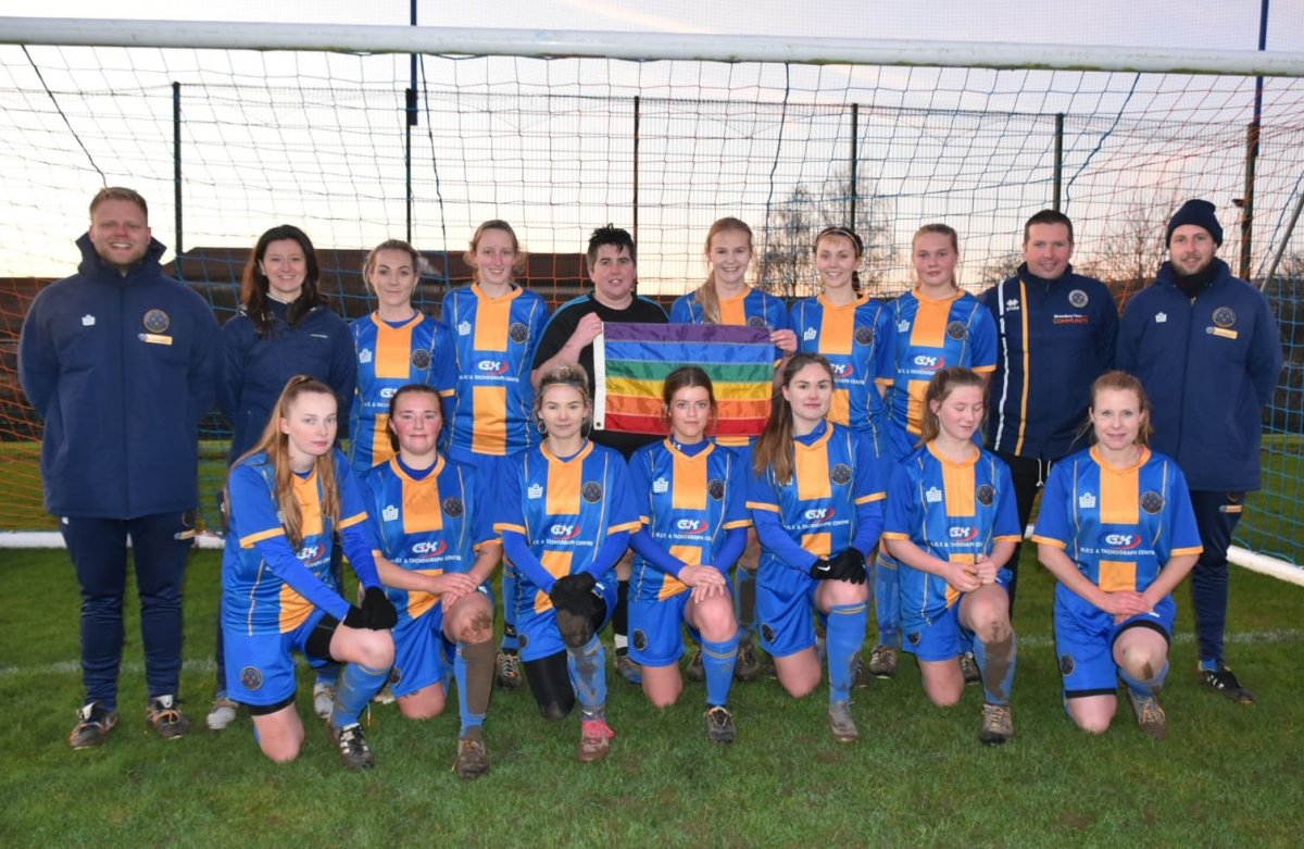 Shrewsbury Town, winners of West Mids top two clash
