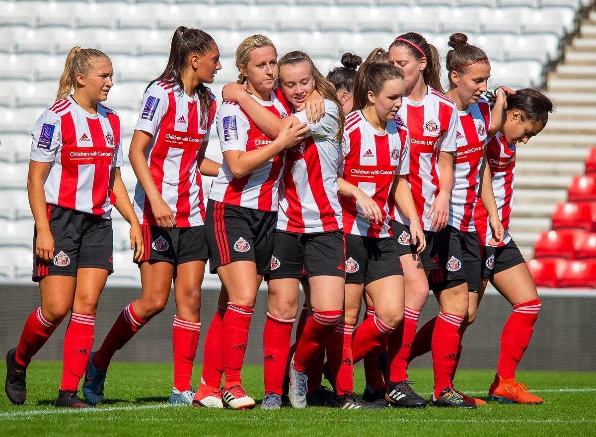 FAWNL Nortthern leaders, Sunderland