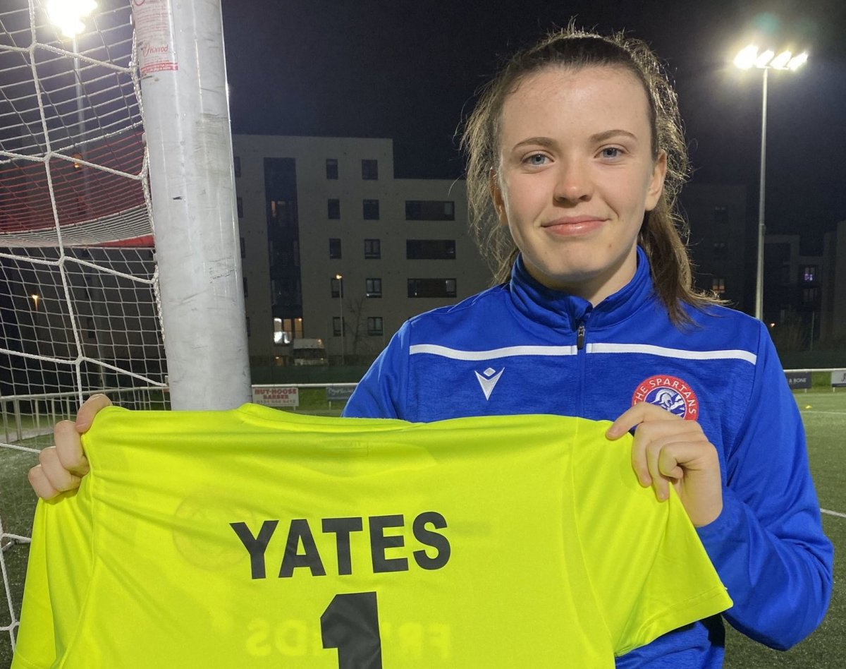 New Spartans signing, Alicia Ystes