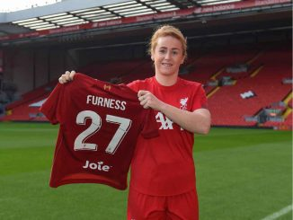 Liverpool's new signing, Rachel Furness