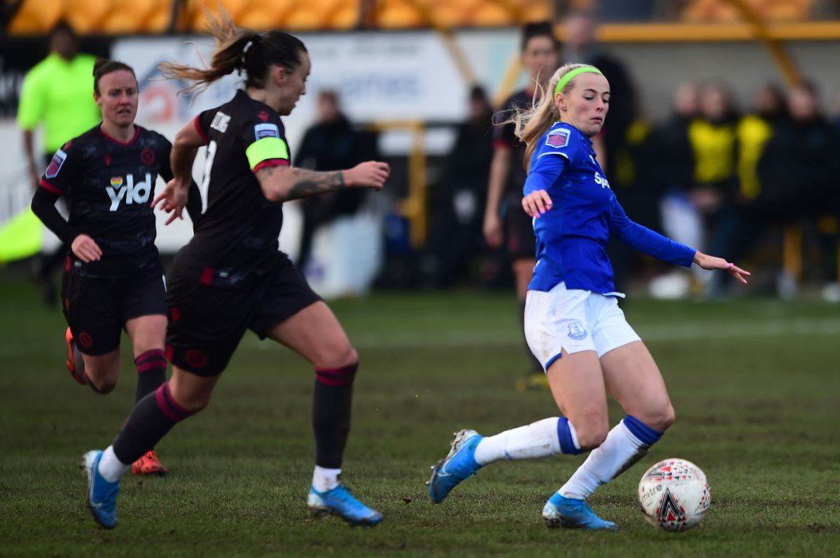Everton's hat-trick hero, Chloe Kelly