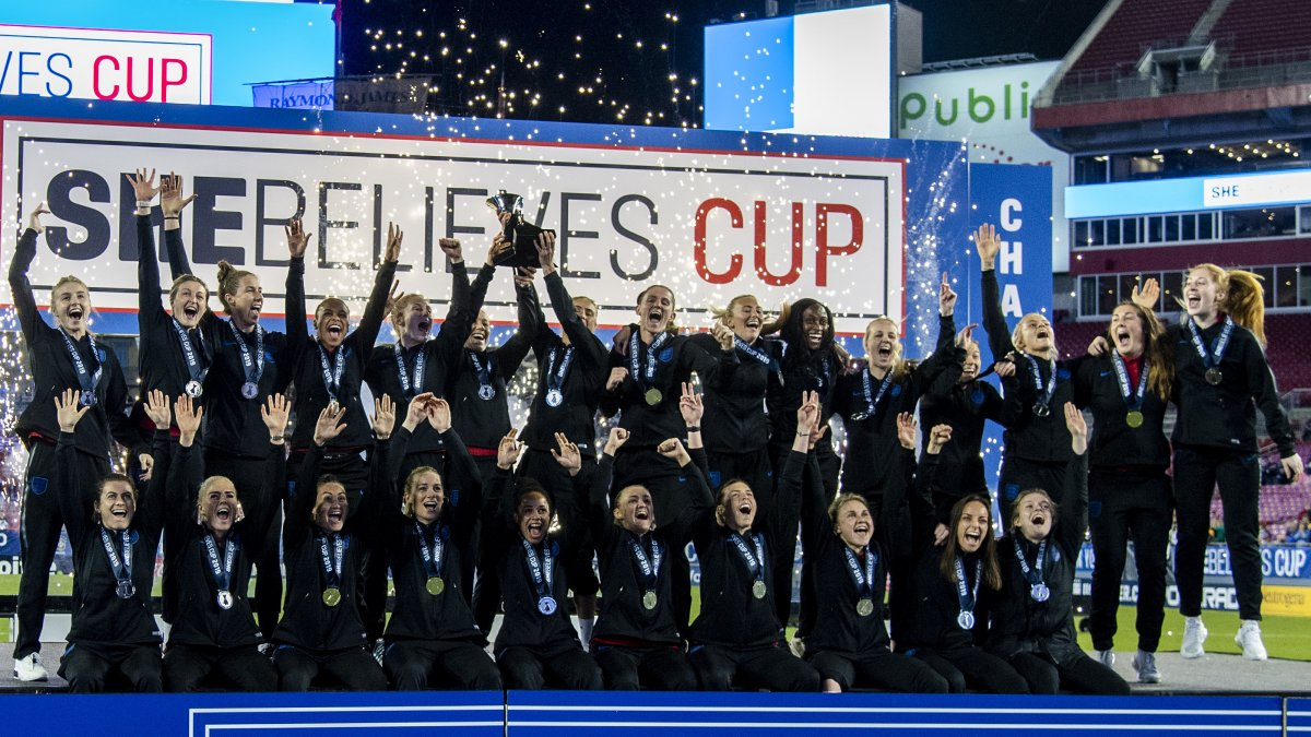 England SheBelieves Cup 2019