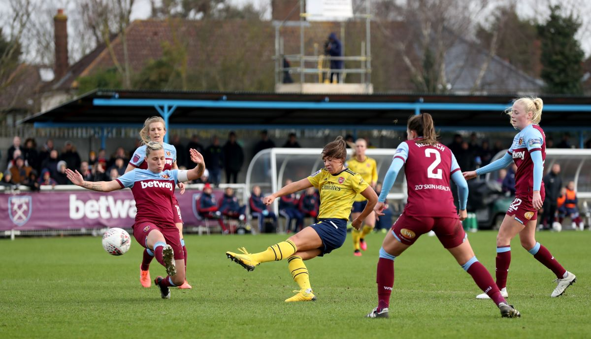 Katie McCabe scored Arsenal's opener
