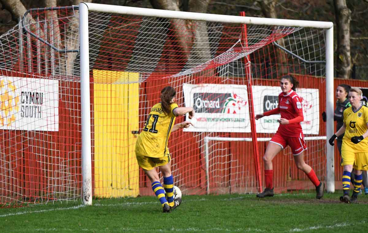 Katy Hosford scores Swans Ladies opener at Briton Ferry