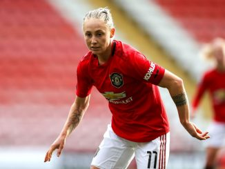 Leah galton signs new deal at Man Utd