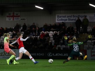 Vivianne Miedema played a part in both Arsenal's goals
