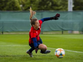 New brighton signing, Cecilie Fiskertsrand