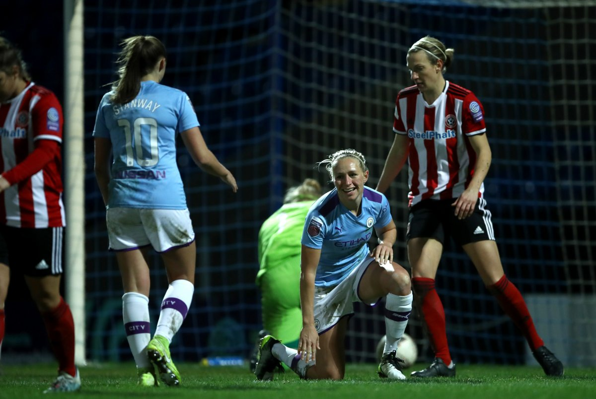 Man City's hat-trick hero, Pauline Bremer