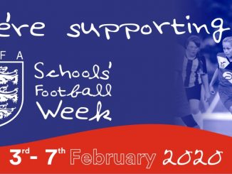 Schools' Football Week is from 37 february