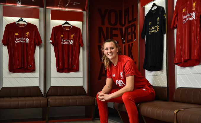 Lverpool's new signing, Rylee Foster