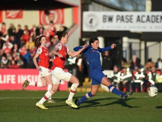 sam kerr opened her account for Chelsea