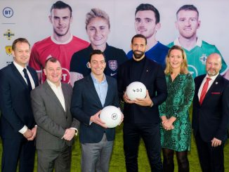 BT launch 4-3-3 football partnership strategy