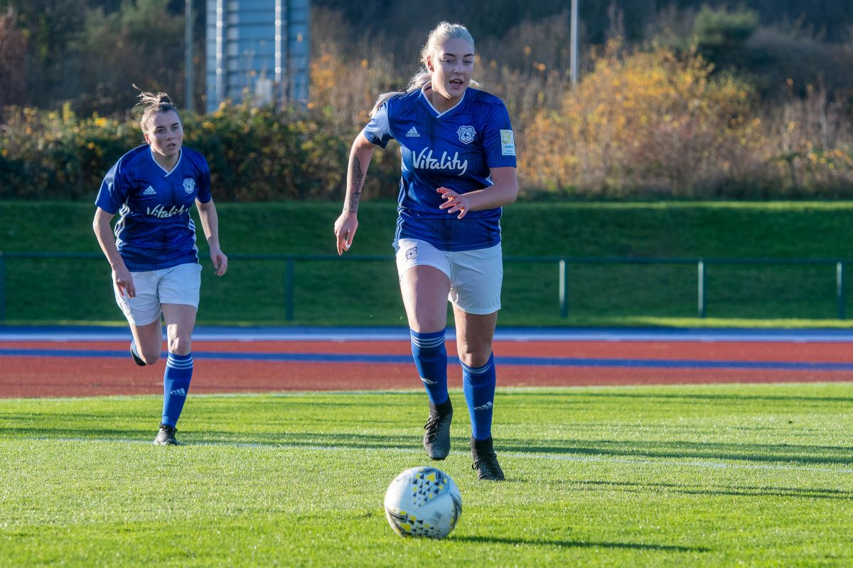 Cardiff City FC Women make Welsh Cup semis