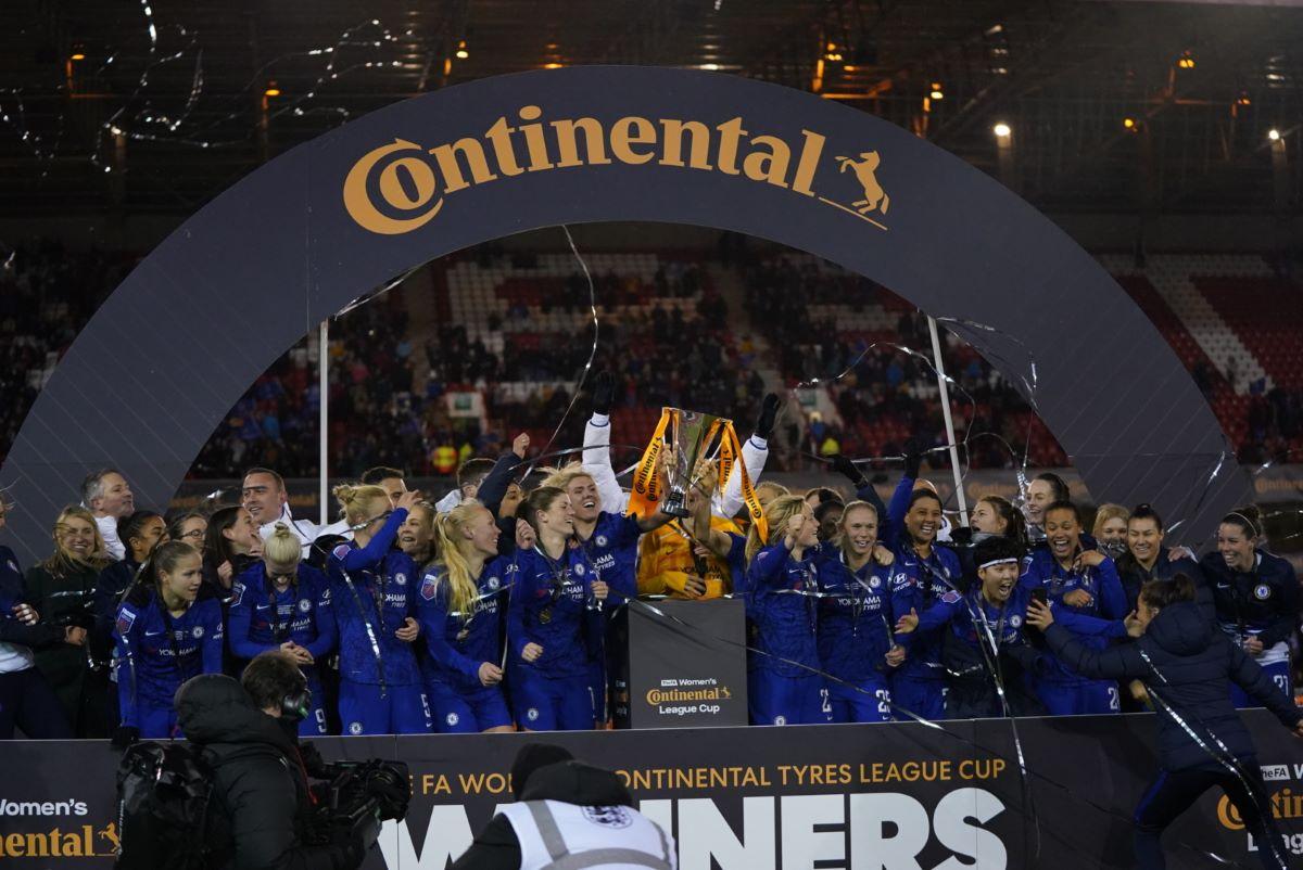 Chelsea win Conti Cup