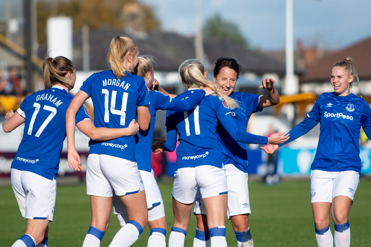 Everton Women Announce First Match At Walton Hall Park Shekicks