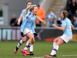 Lauren Hemp leveller in top two clash