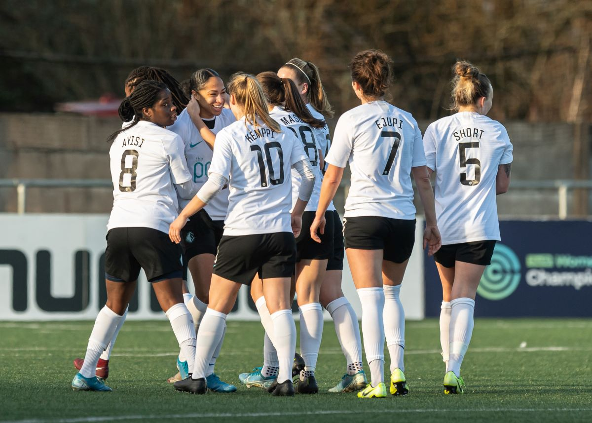 London City Lionesses came from two down to win