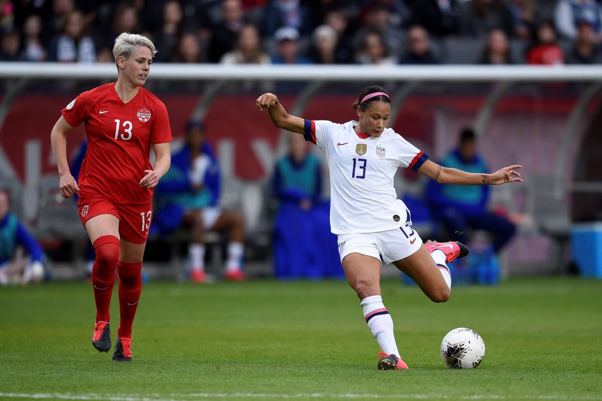 Lynn William played a part in all USA's goals in the final.