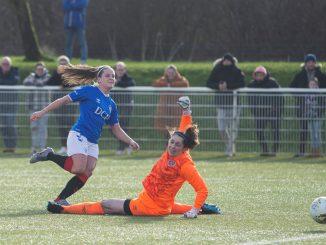 Rangers' tow-goal Megan bell