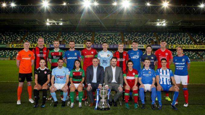 Danske Bank Northern Ireland Football League teams