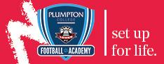 Plumpton College Banner promoting Football Academy