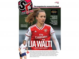 She Kicks Womens Football Magazine Issue 59 cover