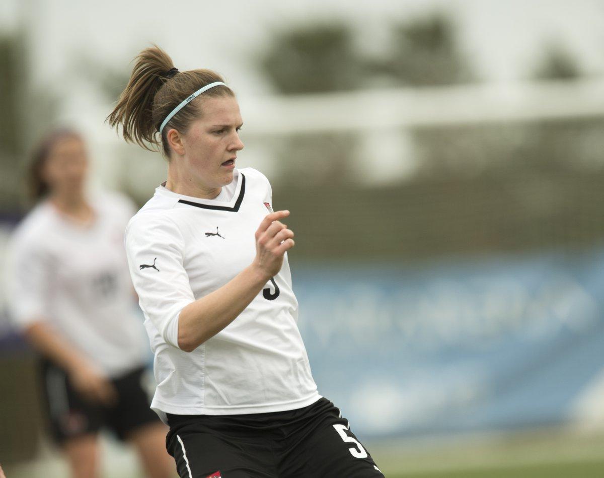 Aston Villa's new signing, Sophie Maierhofer