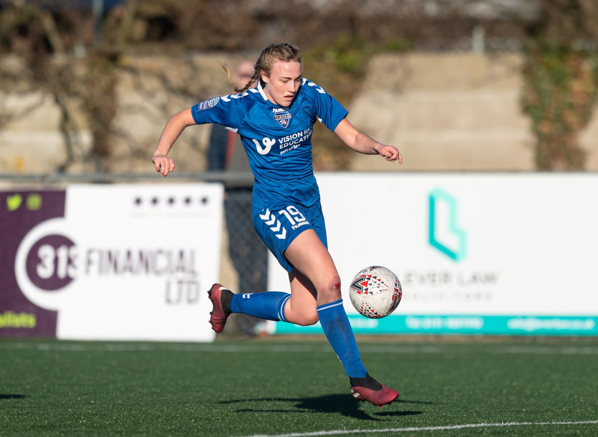 Elaenor Dale scored her first goal for Durham