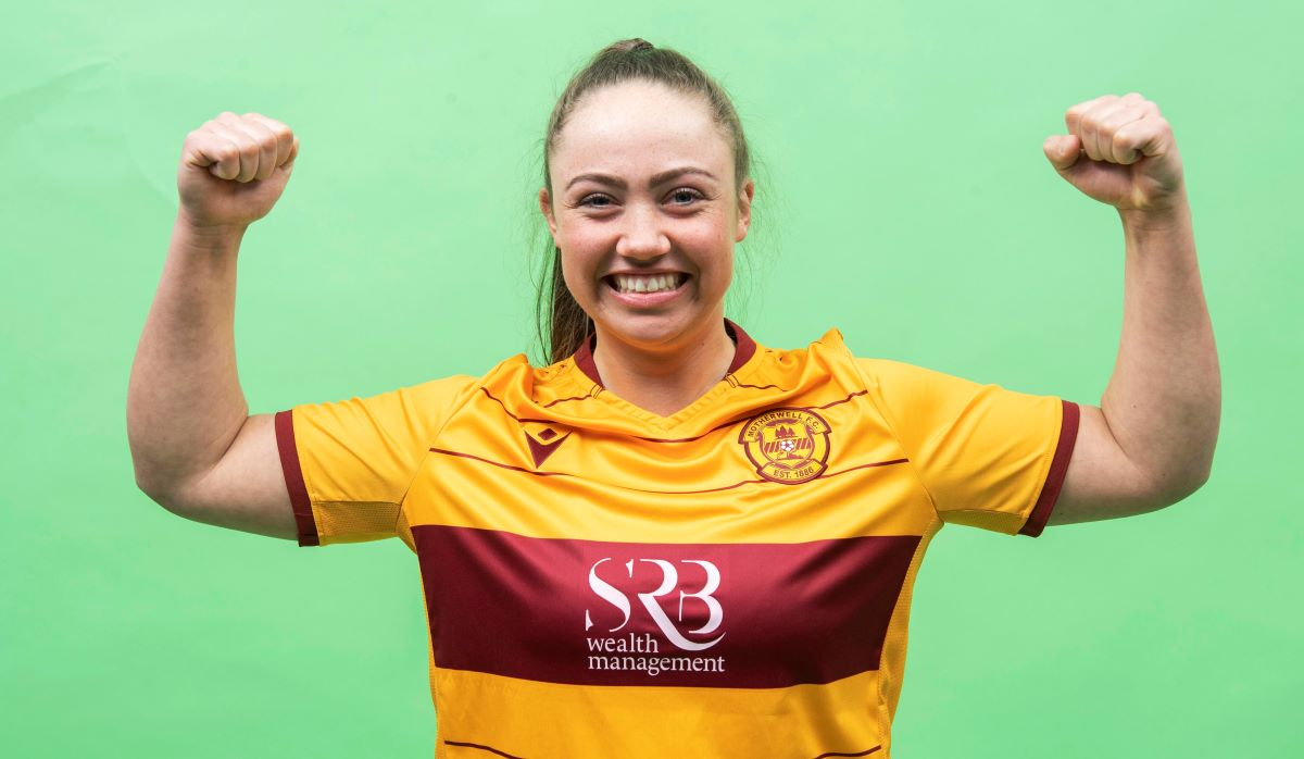 Getting to know Motherwell's Katie Rice