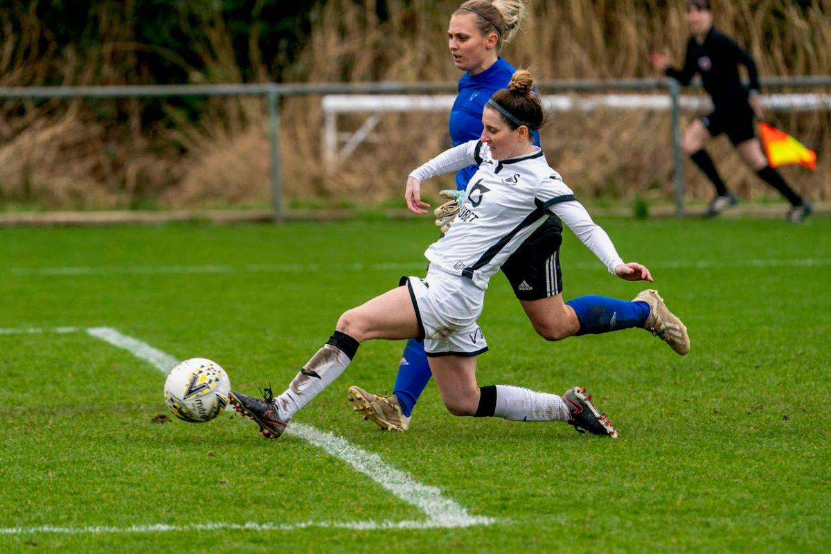 Sarah Adams' goal sealed Swansea's WPWL Cup final place