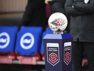 BarclaysFA WSL branding and match ball