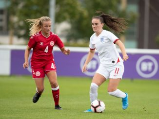 Holly Manders got a goal back for England WU19s