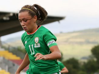 Katie McCabe scored for Republic of Ireland