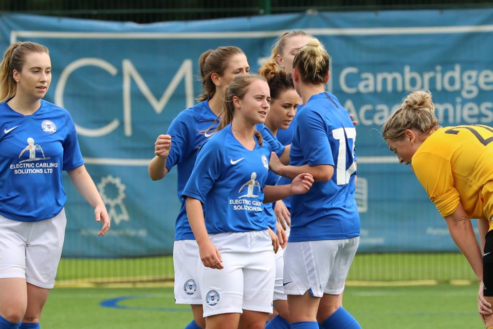 One of those to miss out on a chance at promotion to the FA WNL, Peterborough United