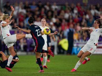 England beaten 2-0 by USA