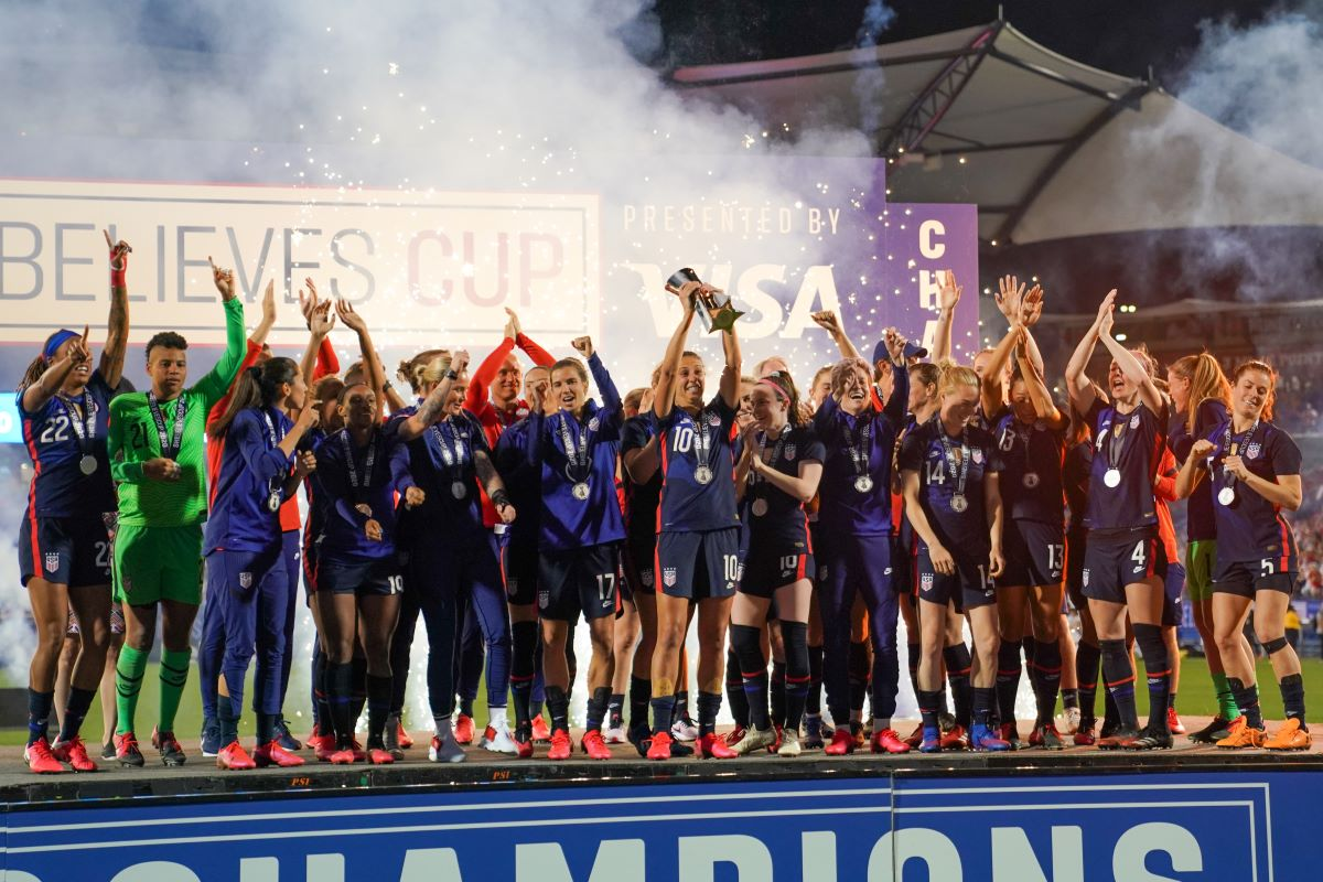 USA win 2020 SheBelieves Cup