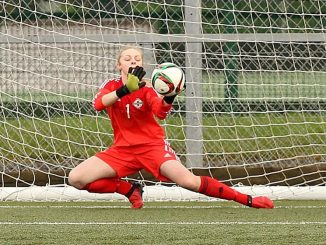 Lauren Perry on Northern Ireland debut