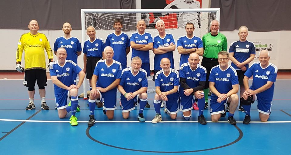 Cardiff City walking football team