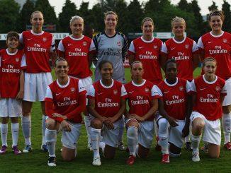 Treble winners in 2011, Arsenal Ladies