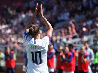 Carli Lloyd is one of the stars to support the #WeWillWin campaign
