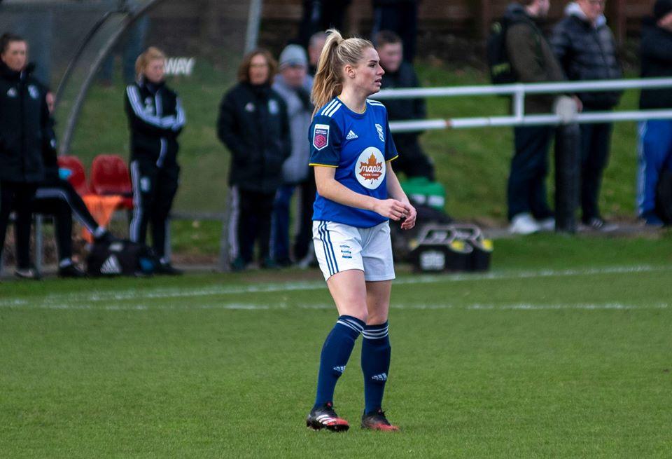Birmingham City's Emma Kelly