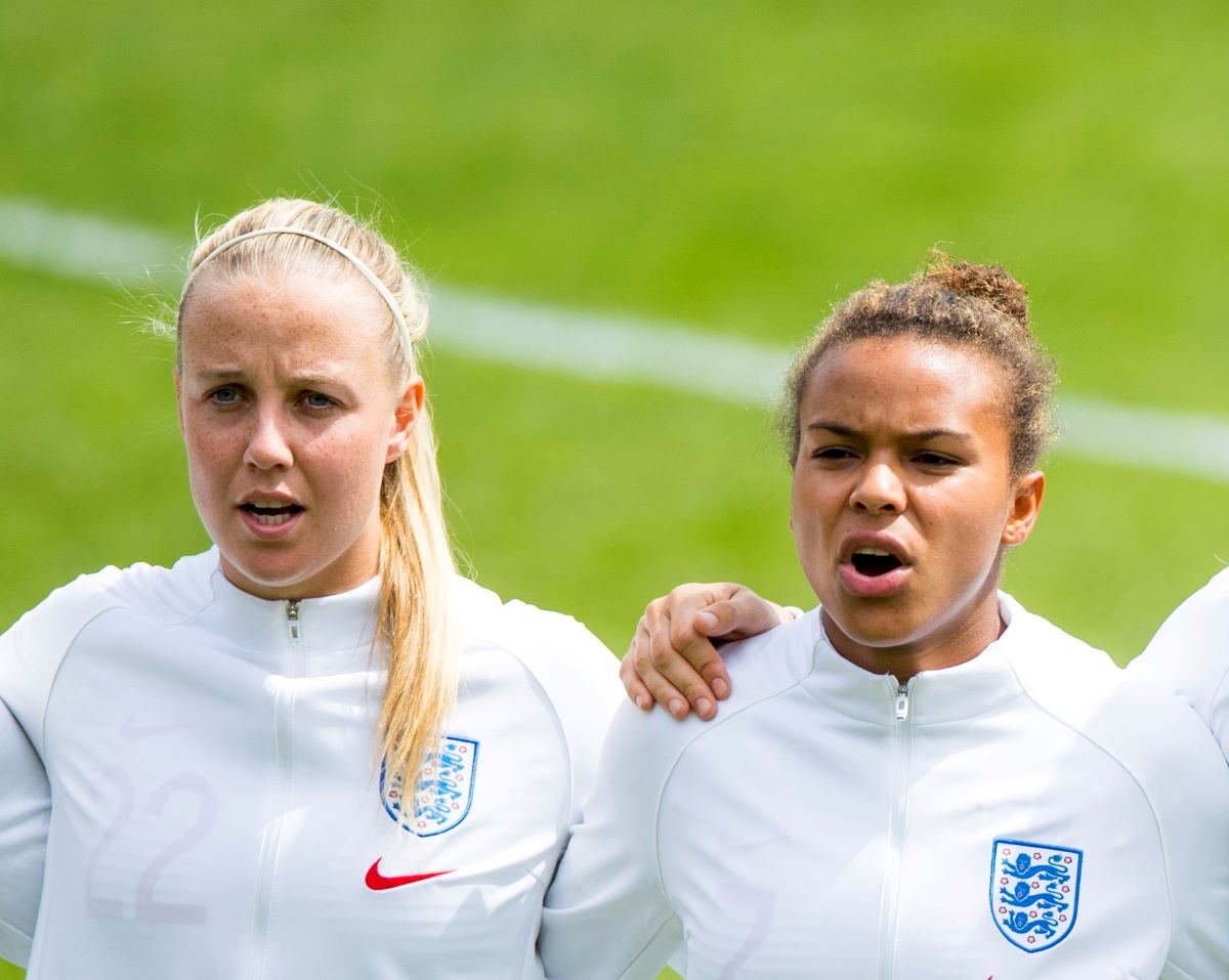 Beth Mead and Nikita Parris show how to #TrainAtHome